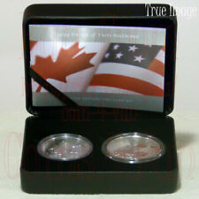 2019 Pride of Two Nations Canada United States Limited Edition Silver 2-Coin Set
