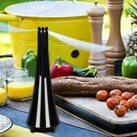Fly Repellent Fan Keep Flies & Bugs Away From Your HOT Outdoor Food Enjoy V Y7Y6
