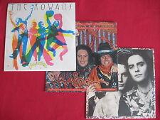 THE ROWANS (3) MINT SEALED LP LOT- SIBLING RIVALRY/JUBILATION/SELF TITLED ASYLUM
