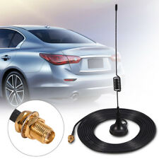 Vehicle VHF UHF Ham Mobile Radio Antenna with Magnetic Base SMA Female Cable