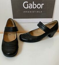 GABOR Comfort Smart Leather Shoes Size UK 6.5 EU 39.5 in excellent condition