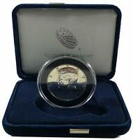 1966 Kennedy Silver Half Dollar- UNC in Air-Tite Capsule and Deluxe Display Box