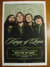 KINGS OF LEON the palace melbourne POSTER 2006 not CD vinyl shirt