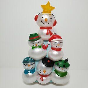 NEW 2014 Hallmark CHRISTMAS CONCERT SNOWMEN Tree Topper Section #4 *Please Read*