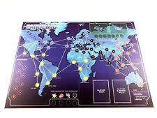 Pandemic Replacement Original Game Board Map - New - Not Complete Game