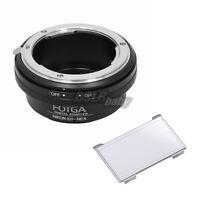 Fotga Nikon G Lens to Sony NEX-5N NEX-C3 NEX-VG10 NEX7 NEX5 E-Mount Adapter Ring