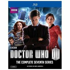 DOCTOR WHO Complete Seventh Series BLU RAY ~ Factory Sealed