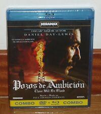 POZOS DE AMBICION - COMBO BLU-RAY+DVD - PRECINTADA - NUEVA - DRAMA - 1 OSCAR