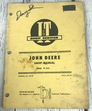 Vintage I & T John Deere Series 2510 Shop Service Repair Manual Book JD-27