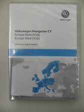 Navigation DVD VW RNS 510 Skoda Columbus V16 Westeuropa  2019 - NEU - VW Händler