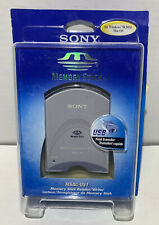 Sony Msac-Us1 Memory Stick Card Reader/Writer w/Usb cable + 1 Memory Sticks