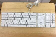 Apple Keyboard wired A1048 USB