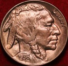 Uncirculated 1936-D Denver Mint Buffalo Nickel