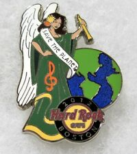 HARD ROCK CAFE BOSTON SAVE THE PLANET SEXY ANGEL GIRL WITH GLOBE PIN # 65768