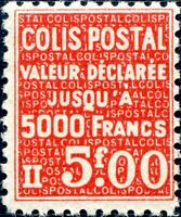 FRANCE COLIS POSTAUX N° 169 NEUF**