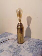 Vintage 75mm Shell Case - TRENCH ART DESK LIGHT LAMP (115)