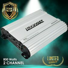 Audiobank 2 Channels 800 WATTS Bridgedable Car Audio Stereo Amplifier P802