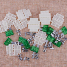 10xMiddle Medium Standard Holder In Line Box 30A Fuse for Car Boat Truck Blade