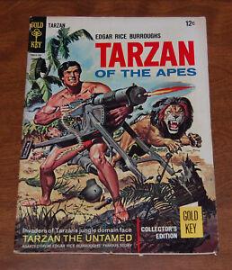 Tarzan of the Apes #163 (1967) Gold Key Comics Silver Age Jungle Comic VG/FN