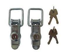 Pair of Replacement ABS Lid Locks Fits Erde 122 Daxara 127 Car Trailer
