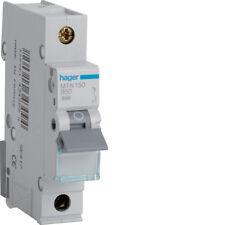 HAGER CONSUMER UNIT SP MCB CIRCUIT BREAKER MTN150 50A 50 AMP