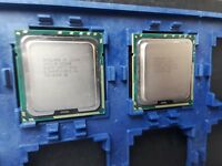 Pair of Intel Xeon L5640 SLBV8 2.26 GHz, SOCKET 1366, Six Core, 60W