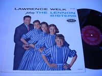 Lawrence Welk featuring the Lennon Sisters 1959 Mono LP VG++
