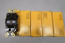 Hubbell HBL5362WR Receptacle Brown Lot of 5!