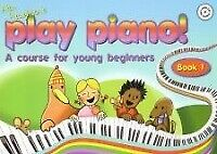 PLAY PIANO Book 1 Haughton Young Beginners + CD*