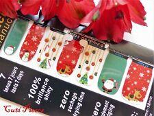 Self Adhesive Full Nail Polish Wrap Sticker Xmas Santa Snowflakes Snowman 1334x