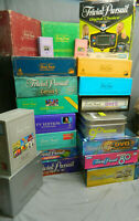 Ultimate Huge Large Trivial Pursuit Lot - 15 Games, 4 Subsidiary, 2 Packs