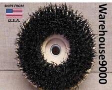 Round Brush carpet clean stain pets remove gum detailer dealership Floors Tile