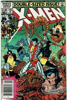 Uncanny X-Men #166 - 1st appearance of Lockheed -  Newsstand - FN/VF