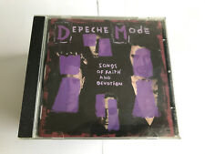 Depeche Mode : Songs of Faith and Devotion CD (1993) V NR MINT 5016025611065