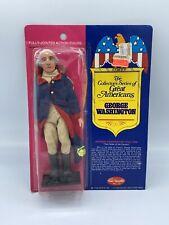 Vintage 1976 GEORGE WASHINGTON Great Americans Doll FUN WORLD Mego