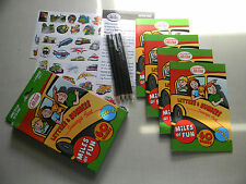 Outset Media Car Tag Letters And Numbers Scavenger Hunt Car Game