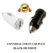Universal  In Car Charger USB Plug bullet lighter Adapter For All Mobile Phones