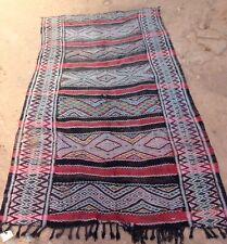 "Vintage marroquí Zemmour Tribal Kilim 280 X 148 cm 9' 2"" X 4' 10"""
