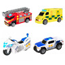 Childrens Kids Emergency Vehicle Ambulance Police Car Fire Light & Sound Toys
