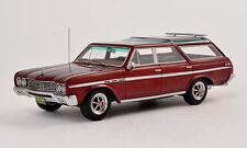 wonderful modelcar  BUICK SPORT WAGON 1965 - darkred metallic - scale 1/43