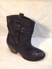 Dorothy Perkins Black Ankle Boots Size 3