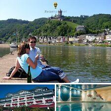 4 Tage Mosel am Ufer Kurzurlaub Cochem 4★ Hotel Kurzurlaub Halbpension Radreise