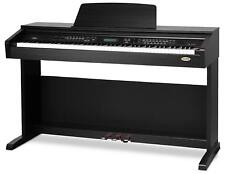 Digital Piano Electronic Keyboard 88 Keys 3 Pedals 500 Voices AUX USB MIDI Black