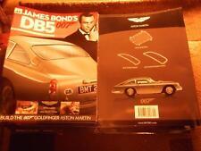 Build your own Aston Martin DB5 1/8th James Bond part 49 & magazine