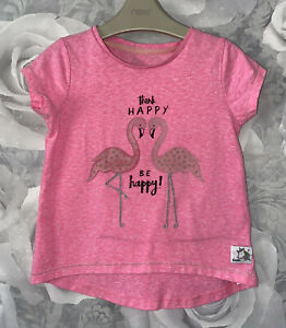 Girls Age 2-3 Years - Short Sleeved Top From Mothercare