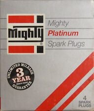 Mighty Platinum Spark Plugs #GRF43P Pack of 4 NOS