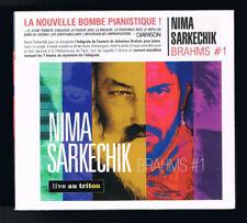 BRAHMS #1 - NIMA SARKECHIK - LIVE AU TRITON - CD 8 TITRES - 2015 - NEUF NEW NEU