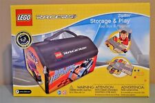 LEGO Racers ZipBin Storage Case & Play Toolbox Playmat Factory Sealed NEW NIB