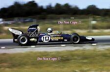 Mark Donohue penshe-Blanco De Carreras McLaren M19A canadiense GP 1971 fotografía 2