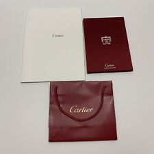 Lot Of 2 Cartier Jewelry Collection 2013 Hardcover Winter Catalog And Bag Set